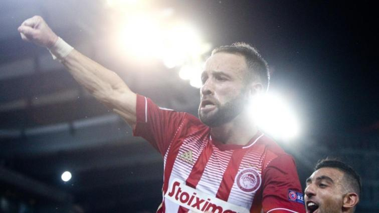 Mathieu Valbuena, Olympiakos ile 1 yıllık yeni sözleşme imzaladı