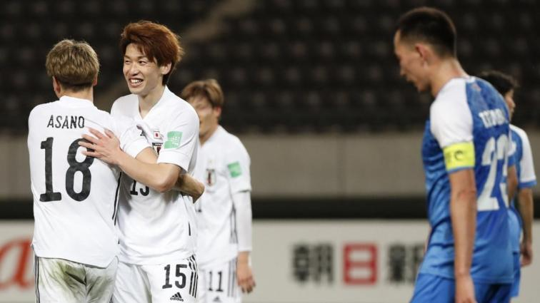 2022 Dünya Kupası Elemeleri'nde Japonya, Moğolistan'ı 14-0 mağlup etti