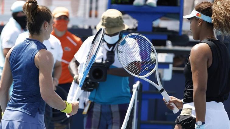 Naomi Osaka'yı Maria Sakkari durdurdu