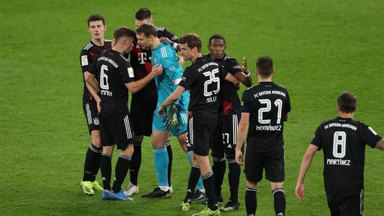 Sezonun kırılma maçında kazanan Bayern Münih