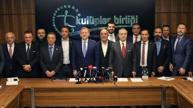 TFF Kulüpler Birliği'ni toplantıya davet etti