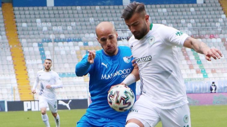 BB. Erzurumspor, Yılmaz Vural yönetiminde çıktığı ilk maçta Konyaspor'a yenildi