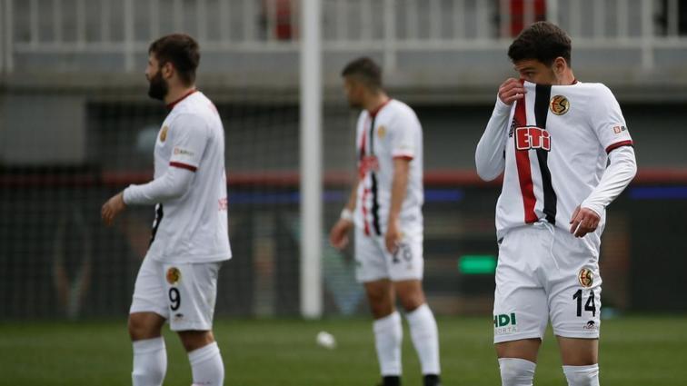 Eskişehirspor'un TFF 2. Lig'e düşmesi kesinleşti