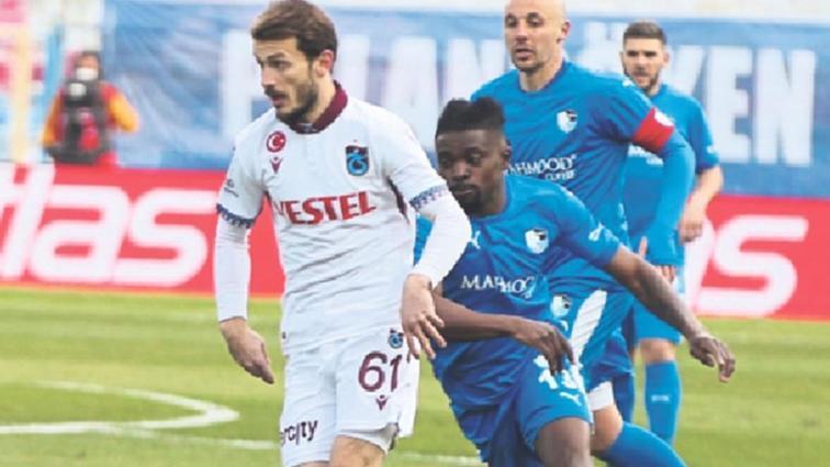 Trabzonspor'un iki yıldızı Kayserispor maçında yok