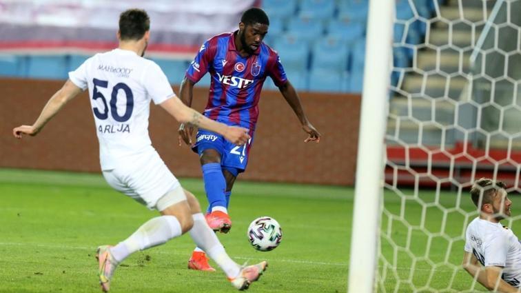 Trabzonspor Djaniny'siz 4. lig maçında da galip gelemedi