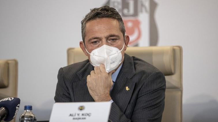 Fenerbahçe'de başkan Ali Koç koronavirüse yakalandı