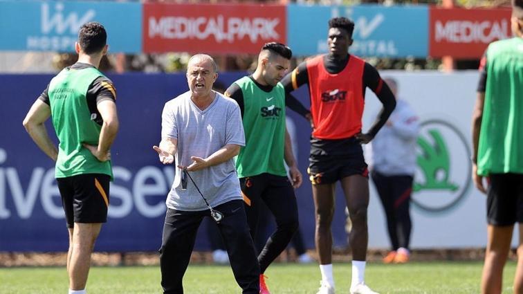 Galatasaray'da Fatih Karagümrük maçı hazırlıkları sürüyor