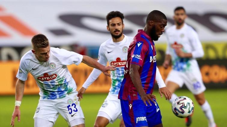 Deplasmanda 166 gündür kaybetmeyen Trabzonspor, Çaykur Rizespor'a konuk oluyor