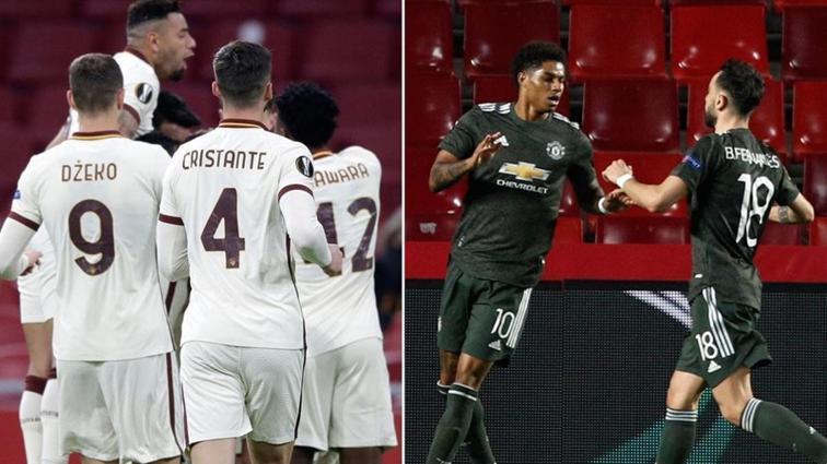 Roma ve Manchester United deplasmanda kazandı