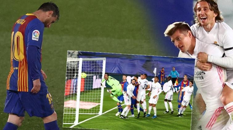 El Clasico'da zafer Real Madrid'in: 2-1