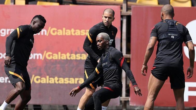 Galatasaray'da Henry Onyekuru takımla çalıştı