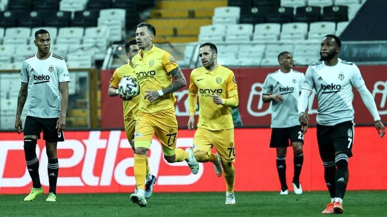Beşiktaş, 90+3'te yıkıldı! 2-2
