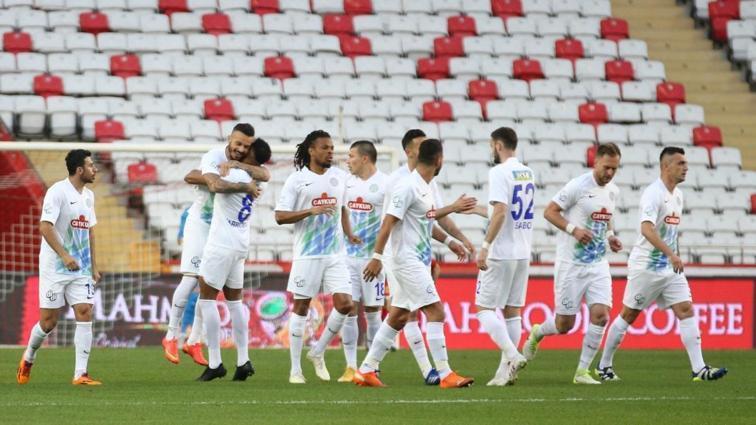 Çaykur Rizespor, Antalya'da ısındı! 2-3