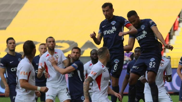 Kasımpaşa 2-0 öne geçtiği maçta deplasmanda Gaziantep FK ile 2-2 berabere kaldı