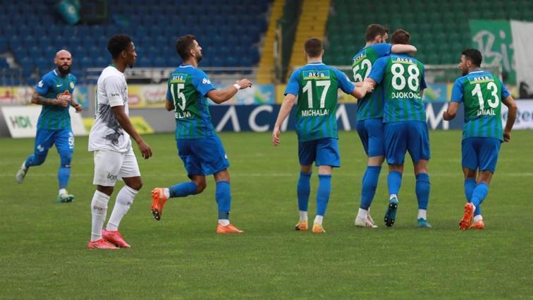Çaykur Rizespor konuk ettiği Konyaspor'u 5-3 mağlup etti