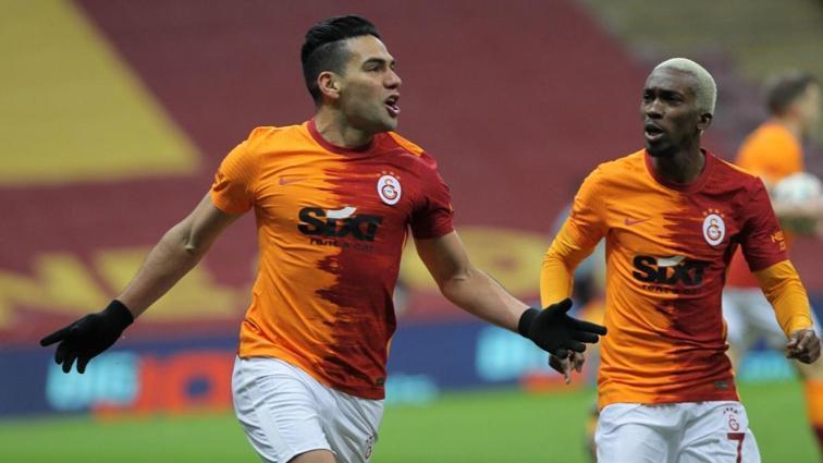 Radamel Falcao: 'Buradan asla ayrılmam'