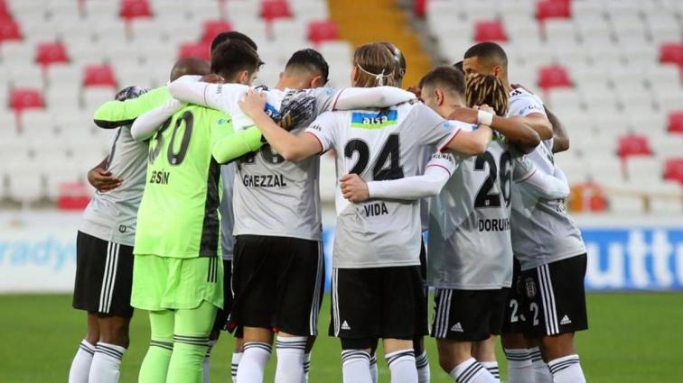 Beşiktaş 3 önemli eksikle Kayserispor'u ağırlıyor