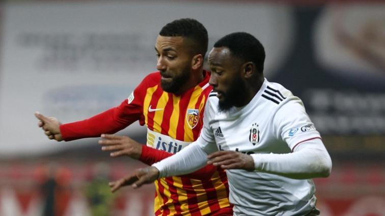 Beşiktaş'ın iç sahada Kayserispor'a karşı dikkat çeken istatistiği