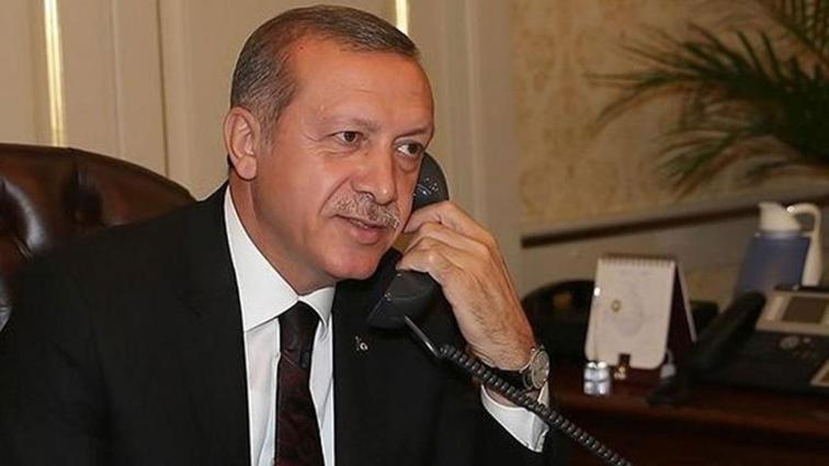Başkan Recep Tayyip Erdoğan, 10. kez Avrupa şampiyonu olan Rıza Kayaalp'i tebrik etti