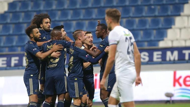 Fenerbahçe Kasımpaşa'yla oynadığı son 17 maçta sadece 1 yenilgi aldı