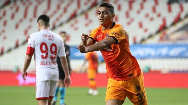 Galatasaray, Antalya'da okçusuyla güldü: 0-1