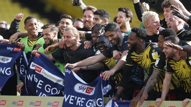 İngiltere Premier Lig'e yükselen ikinci takım Watford oldu