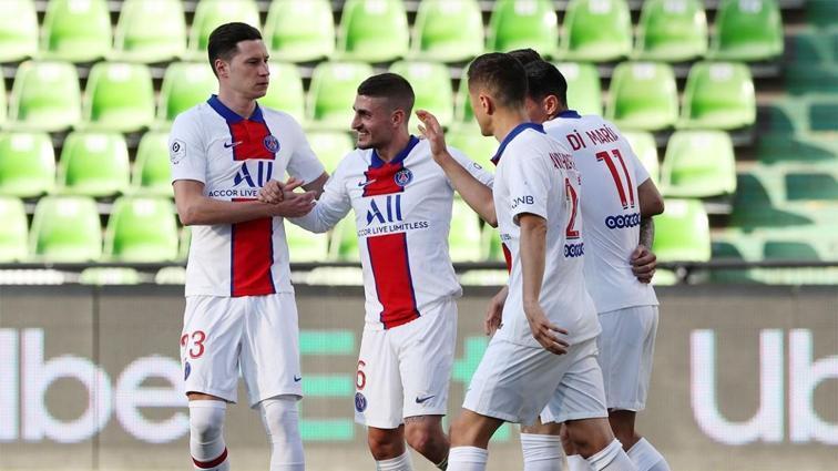 PSG'nin ayak sesleri: Metz'i 3 golle geçtiler