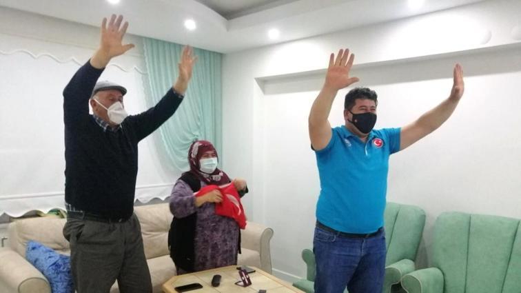 Rıza Kayaalp'in baba evinde büyük heyecan: Darısı inşallah olimpiyatlara
