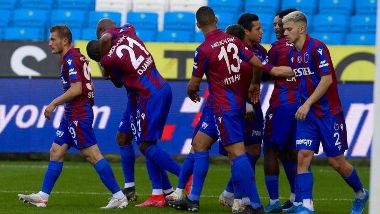 Trabzonspor sahasında Fatih Karagümrük'ü 2-0 mağlup etti