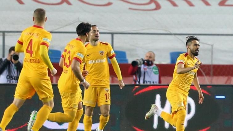 Hes Kablo Kayserispor galibiyeti unuttu