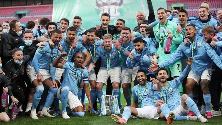 Manchester City, üst üste 4. kez İngiltere Lig Kupası şampiyonu