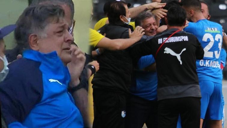 Yılmaz Vural'ın gözyaşları... Maç sonu açıkladı