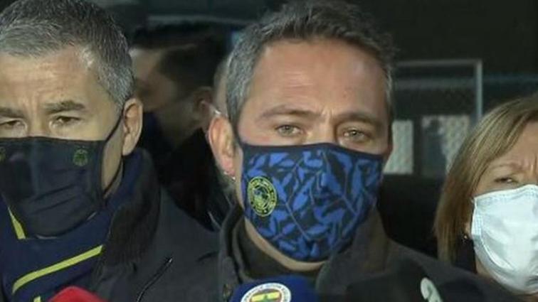 Ali Koç'tan Beşiktaş'a: Şaşkınlıkla izliyorum ama biz o topa girmeyeceğiz