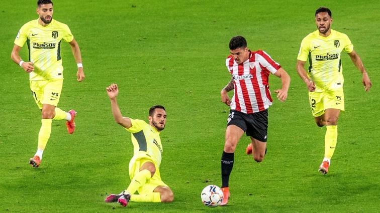 Atletico Madrid'e Athletic Bilbao şoku