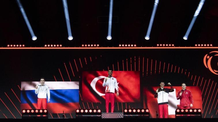 Cimnastikte büyük başarı: Ferhat Arıcan, Avrupa şampiyonu; Adem Asil, Avrupa üçüncüsü oldu