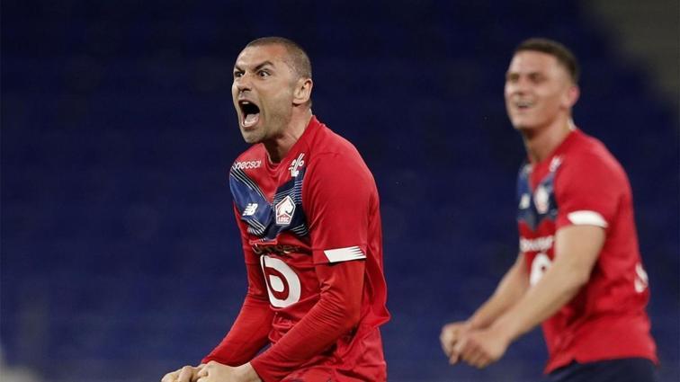 Kral çıldırdı şampiyonluk istiyor! Lille, Lyon'u geriden gelerek devirdi