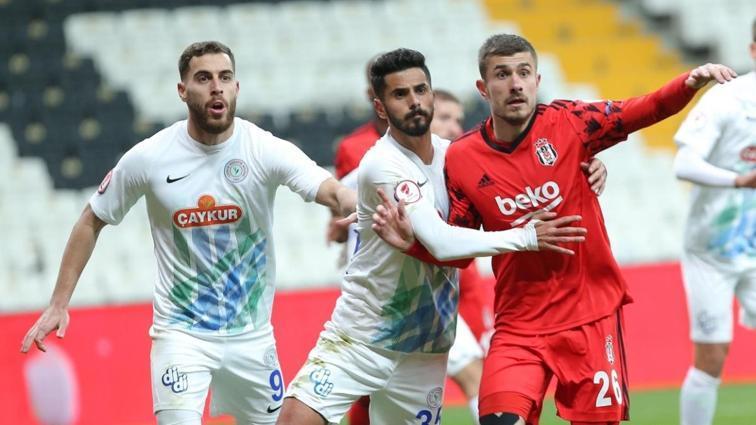 Beşiktaş deplasmanda Çaykur Rizespor'a 8 maçtır yenilmiyor