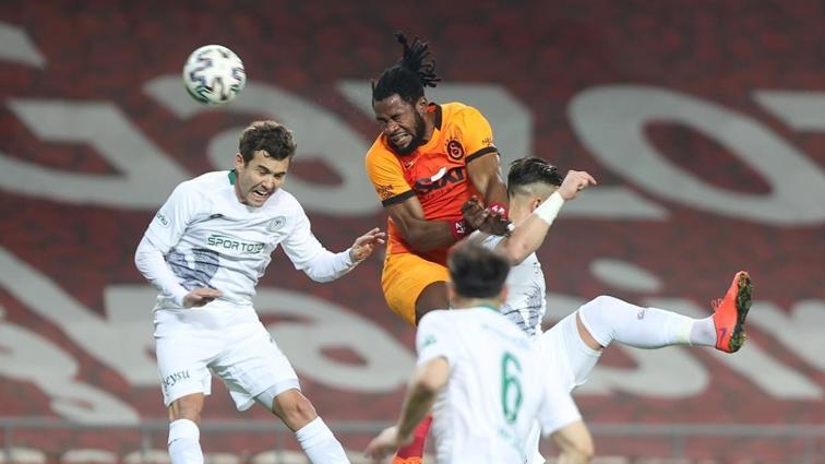 Galatasaray, Konyaspor'la İstanbul'da oynadığı hiçbir maçı kaybetmedi