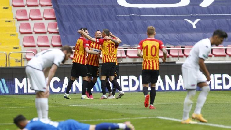 9 gollü maçta kazanan Hes Kablo Kayserispor