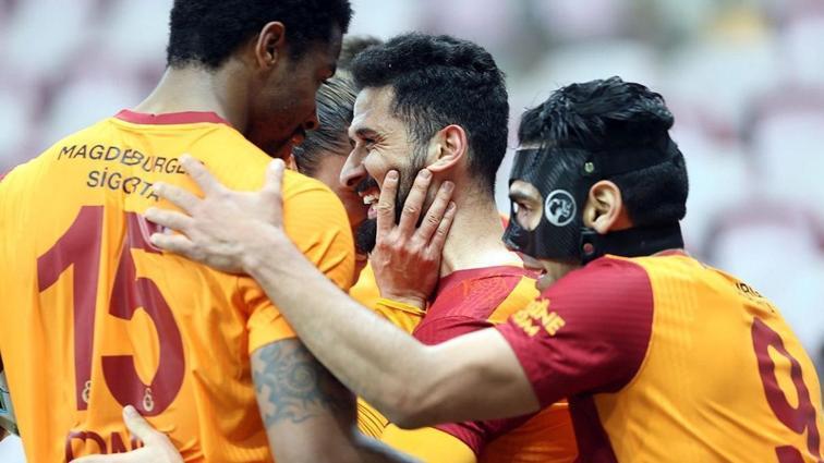 Galatasaray sahasındaki kötü tabloyu sonlandırdı