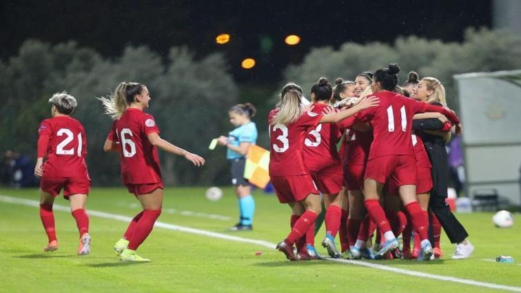 2023 Dünya Kupası elemelerinde Kadın Milli Futbol Takımı'nın rakipleri belli oldu