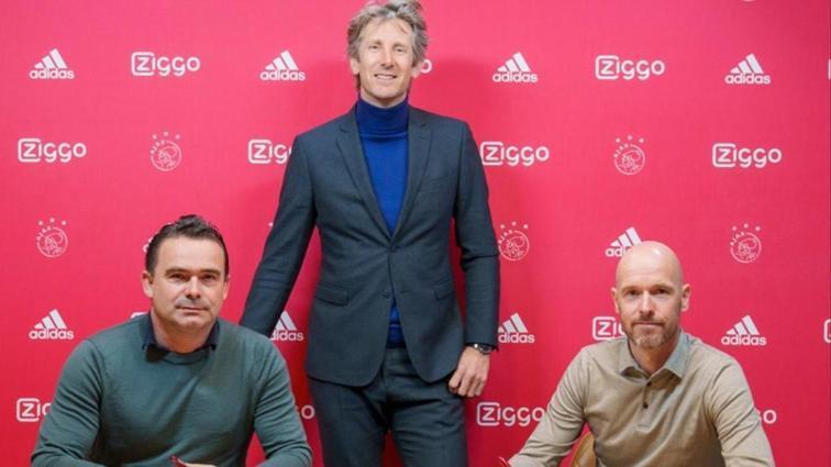 Ajax Erik ten Hag'ın sözleşmesini uzattı
