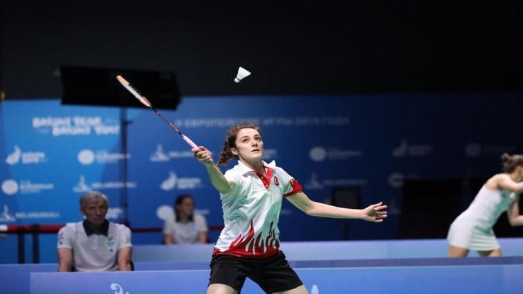 Avrupa Badminton Şampiyonası'nda Neslihan Yiğit, yarı finale yükseldi