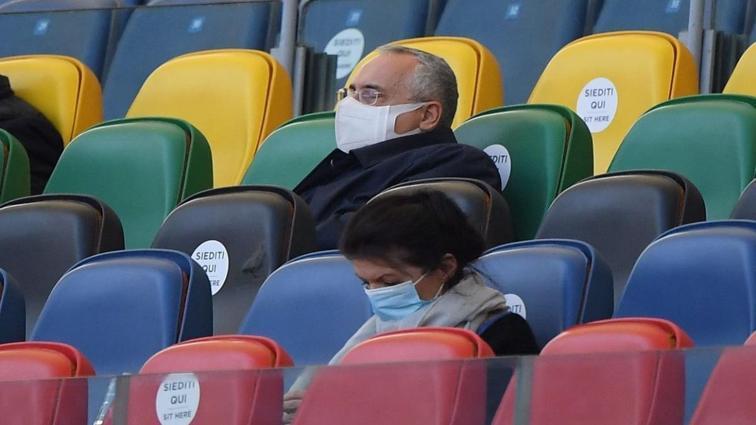 Futbolcuların koronavirüs test sonuçlarını gizleyen Lazio'nun cezası artırıldı
