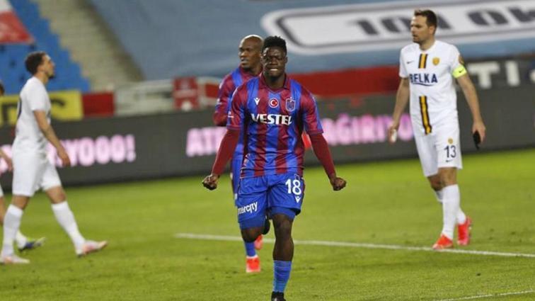 Trabzonsporlu Ekuban en skorer sezonunu geçiriyor