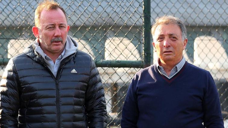 Başkan Çebi futbolcularından galibiyet sözü aldı