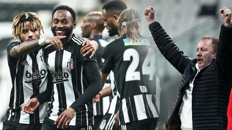 Beşiktaş şampi... Hatayspor'a gol olup yağdı, mutlu sona çok yaklaştı