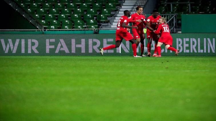 Leipzig, Almanya Kupası'nda finale yükseldi