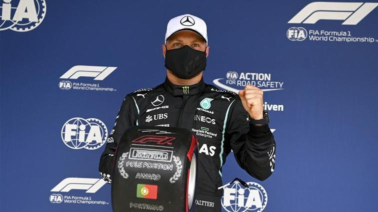 Valtteri Bottas, Formula 1 Portekiz GP'sinde pole pozisyonunu aldı