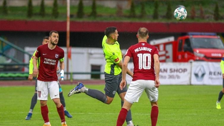 Bosna derbisinde Saraybosna, Zeljeznicar'ı mağlup etti